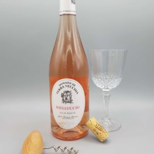 Vin corse rosé domaine terra vecchia niellucciu